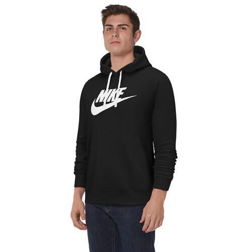 【エントリーでポイント10倍】(取寄)ナイキ メンズ パーカー GX クラブ プルオーバー フーディ Nike Men's GX Club Pullover Hoodie Black White