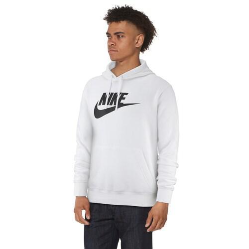 (取寄)ナイキ メンズ パーカー GX クラブ プルオーバー フーディ Nike Men's GX Club Pullover Hoodie White Black