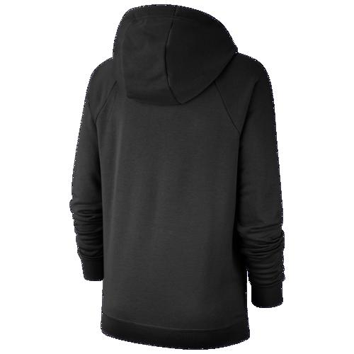 取寄 ナイキ レディース パーカー エッセンシャル プルオーバー フリース フーディ Nike Women's Essential Pullover Fleece Hoodie Black Whitem8vNn0wO