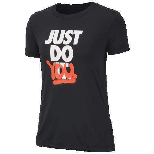 (取寄)ナイキ レディース レジェンド レベル Tシャツ Nike Women's Legend Rebel T-Shirt Black