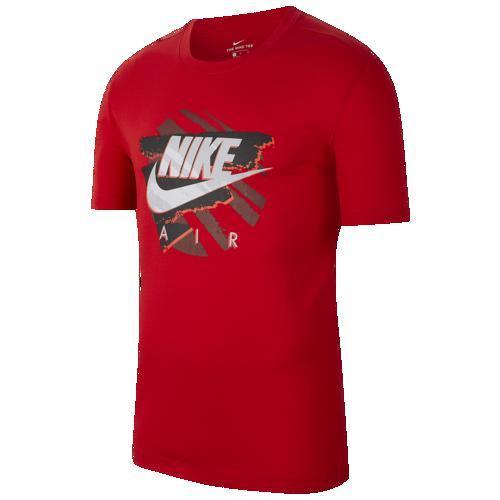 (取寄)ナイキ メンズ エア スウッシュ Tシャツ Nike Men's Air Swoosh T-Shirt University Red