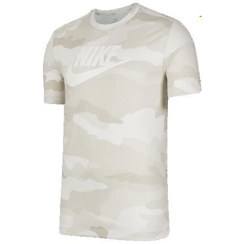 (取寄)ナイキ メンズ カモ Tシャツ Nike Men's Camo T-Shirt Summit White