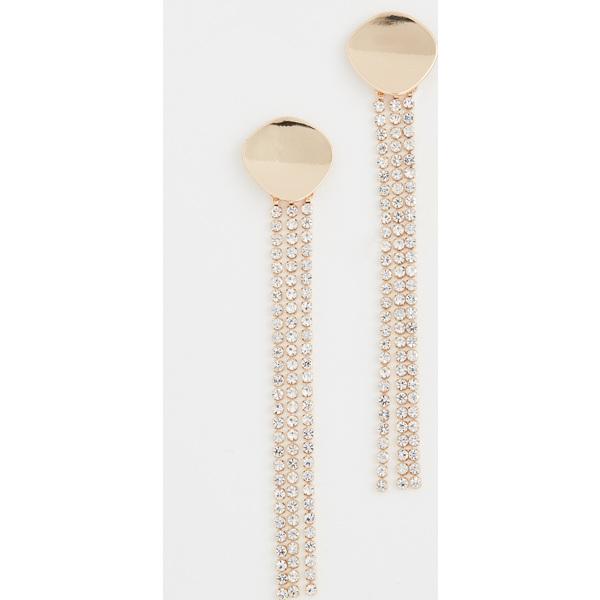 (取寄)シャシ モンテ カーロ ピアス Shashi Monte Carlo Earrings Crystal