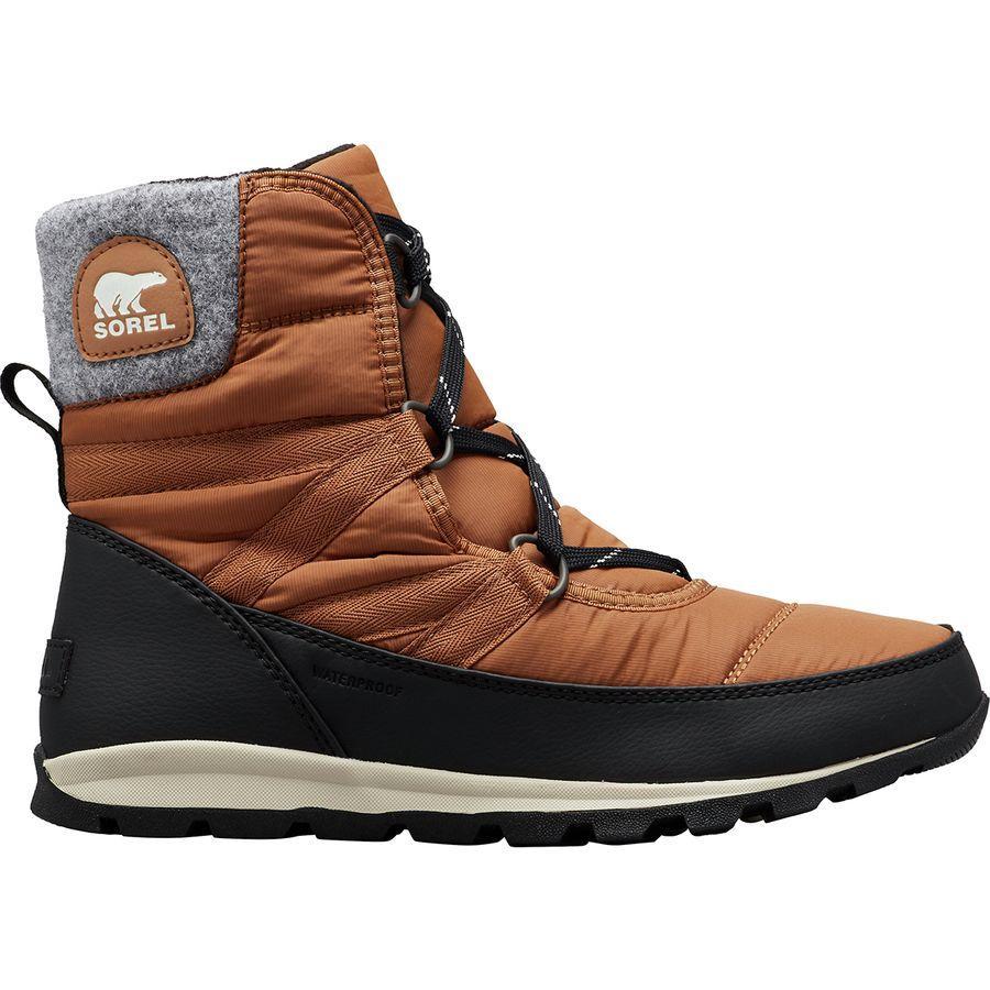 (取寄)ソレル レディース ホイットニー ショート レース ブーツ Sorel Women Whitney Short Lace Boot Elk