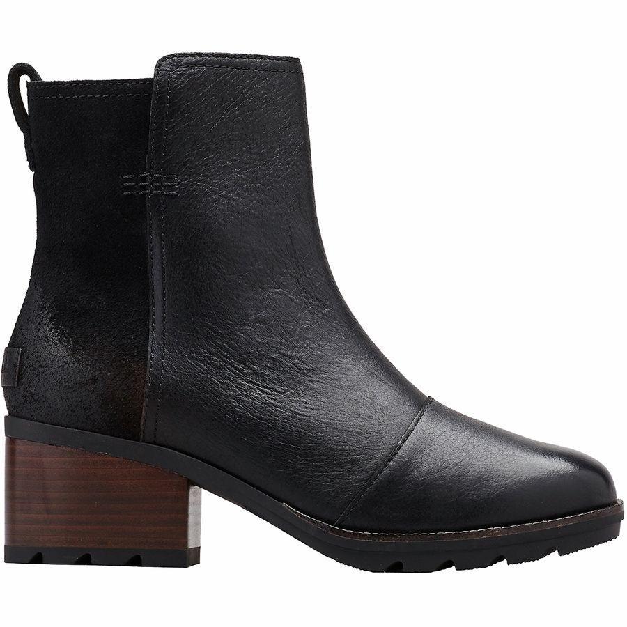 (取寄)ソレル レディース ケイト ブーティー ブーツ Sorel Women Cate ie Boot Black
