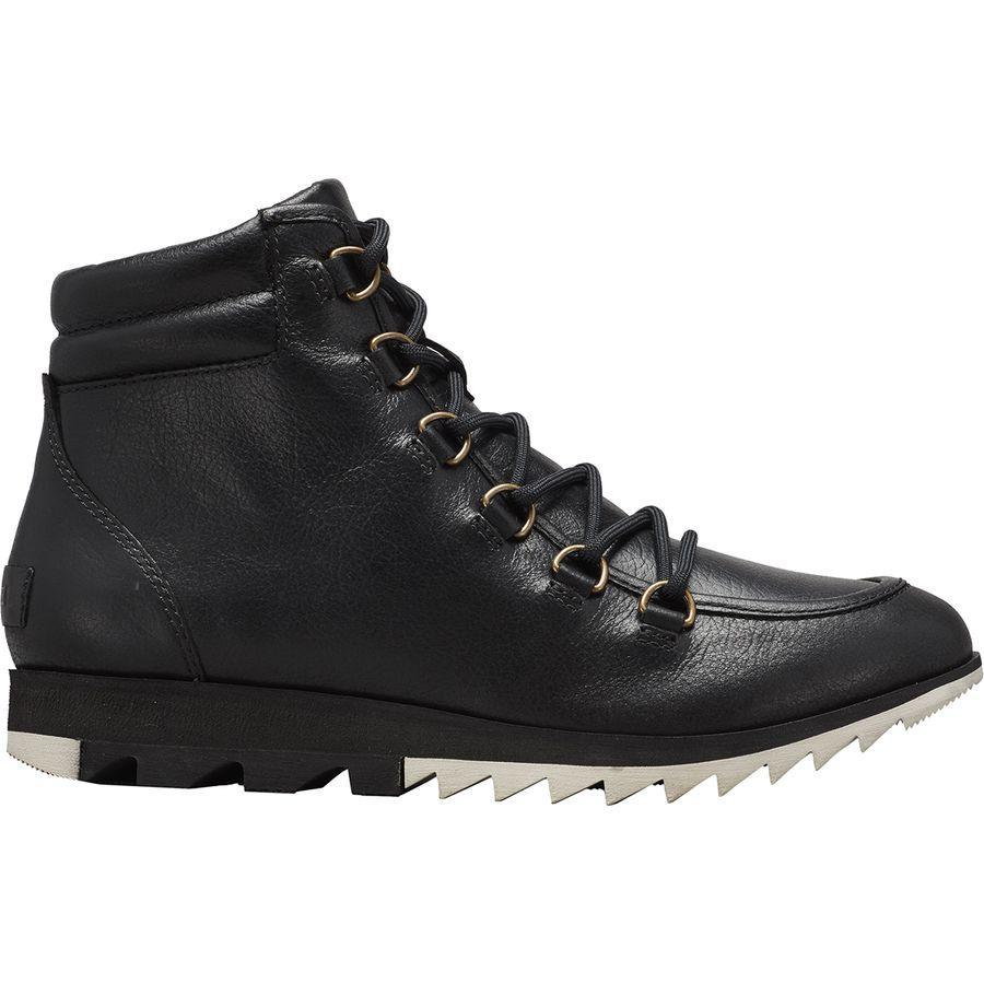 (取寄)ソレル レディース ハーロウ レース ブーツ Sorel Women Harlow Lace Boot Black