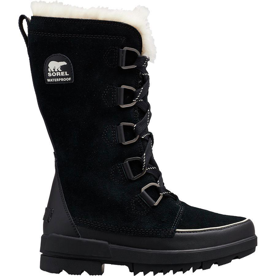 (取寄)ソレル レディース ティボリ 4 トール ブーツ Sorel Women Tivoli IV Tall Boot Black