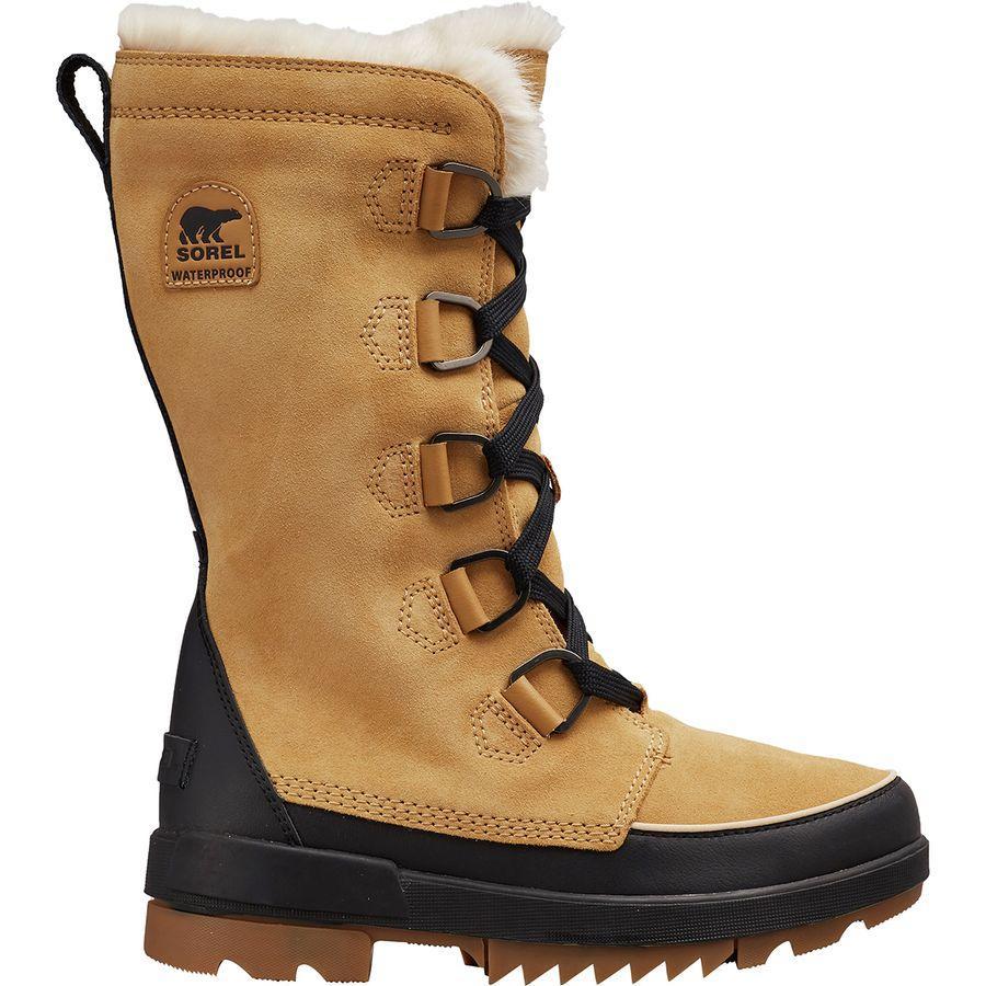 (取寄)ソレル レディース ティボリ 4 トール ブーツ Sorel Women Tivoli IV Tall Boot Curry
