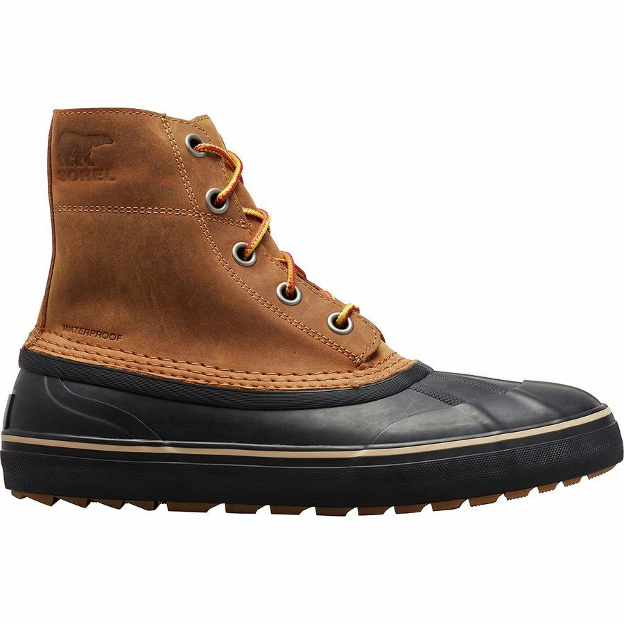 (取寄)ソレル メンズ シャイアン メトロ レース WP ブーツ Sorel Men's Cheyanne Metro Lace WP Boot Elk/Black