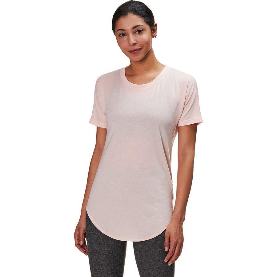 (取寄)ノースフェイス レディース ワークアウト ショートスリーブ トップ The North Face Women Workout Short-Sleeve Top Pink Salt