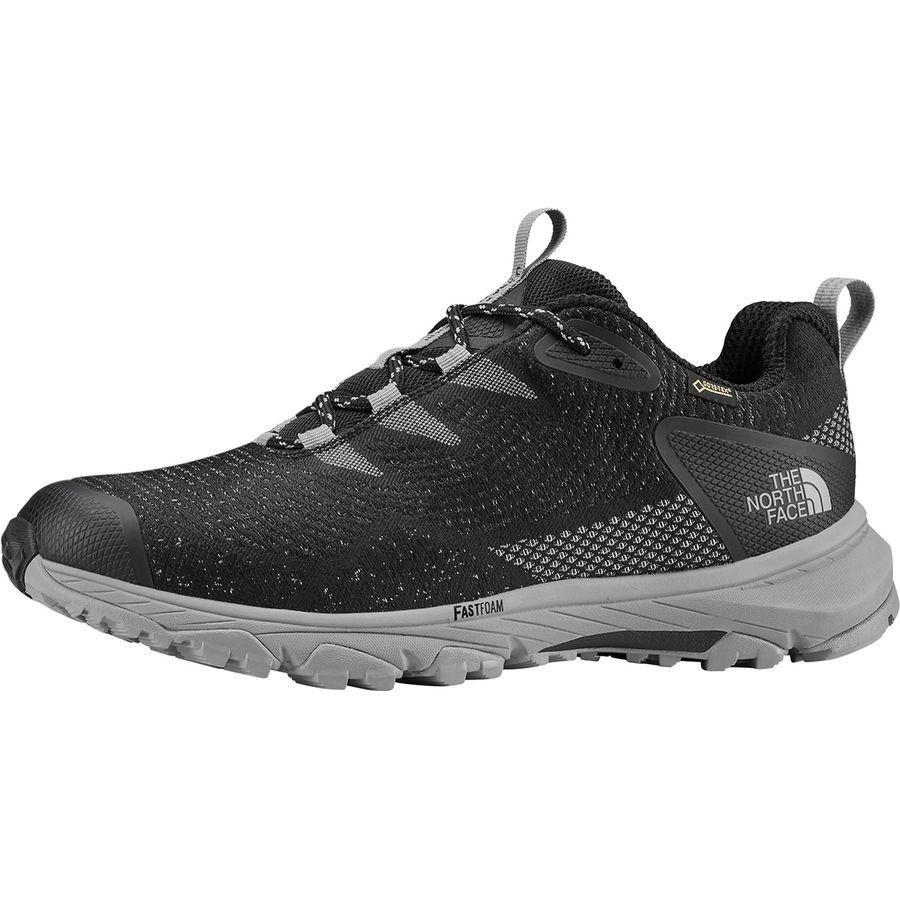 (取寄)ノースフェイス メンズ ウルトラ ファストパック 3 Gtx ウーヴン ハイキングシューズ The North Face Men's Ultra Fastpack III GTX Woven Hiking Shoe Tnf Black/Meld Grey