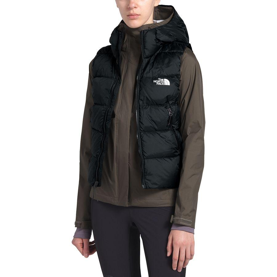 (取寄)ノースフェイス レディース ハイアライト ダウン フーデッド ベスト The North Face Women Hyalite Down Hooded Vest Tnf Black