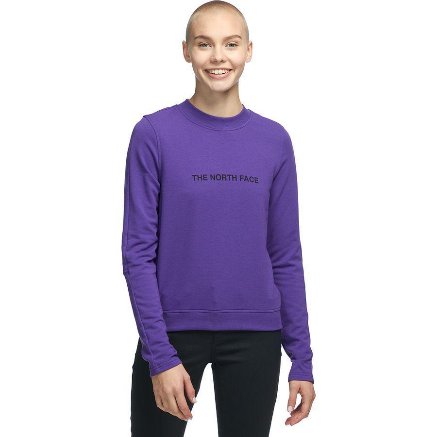 (取寄)ノースフェイス レディース NSE グラフィック ロングスリーブ トップ The North Face Women NSE Graphic Long-Sleeve Top Hero Purple