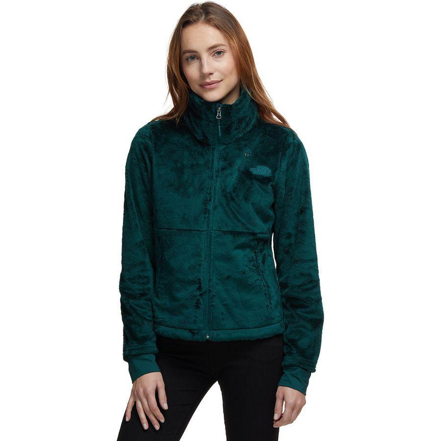 (取寄)ノースフェイス レディース Osito フロー ジャケット The North Face Women Osito Flow Jacket Ponderosa Green