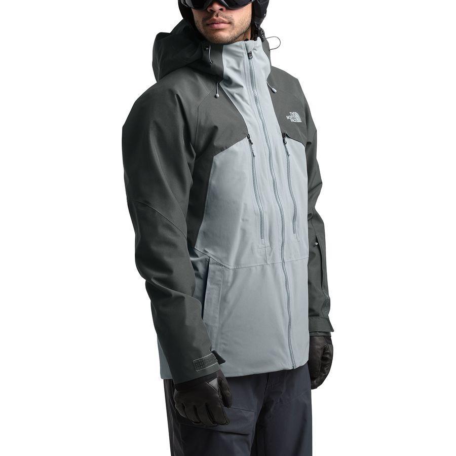 (取寄)ノースフェイス メンズ パウダーフロー ジャケット The North Face Men's Powderflo Jacket Mid Grey/Asphalt Grey