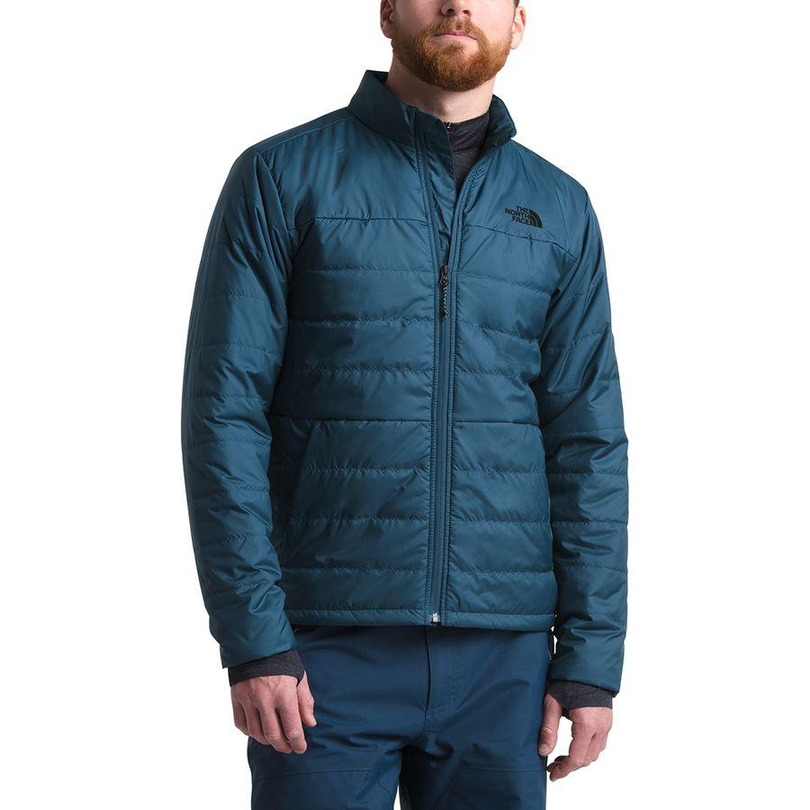(取寄)ノースフェイス メンズ ボンベイ インサレーテッド ジャケット The North Face Men's Bombay Insulated Jacket Blue Wing Teal