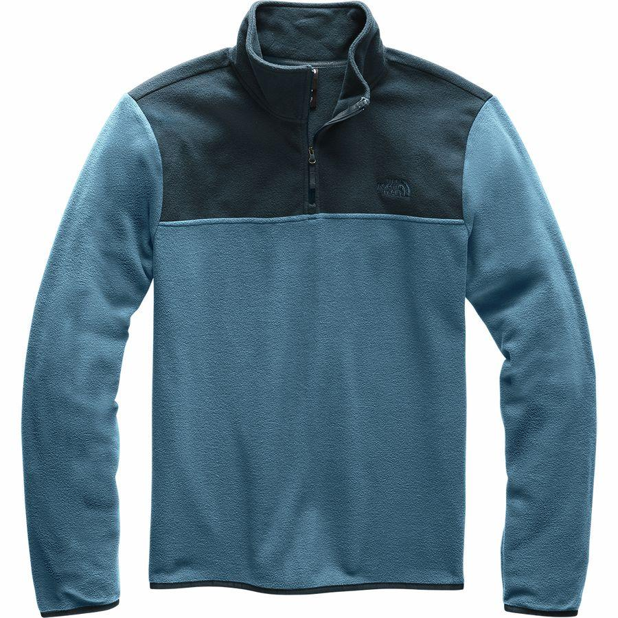 (取寄)ノースフェイス メンズ TKA グレイシャー 1/4-Zip フリース ジャケット The North Face Men's TKA Glacier 1/4-Zip Fleece Jacket Blue Wing Teal/Urban Navy