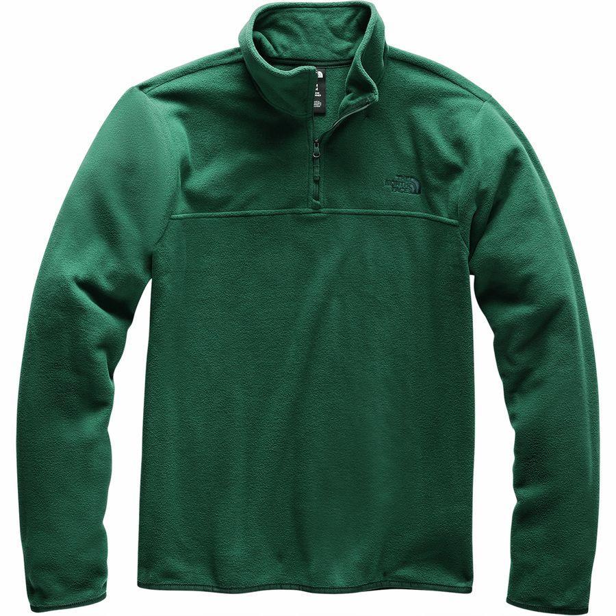(取寄)ノースフェイス メンズ TKA グレイシャー 1/4-Zip フリース ジャケット The North Face Men's TKA Glacier 1/4-Zip Fleece Jacket Night Green/Night Green