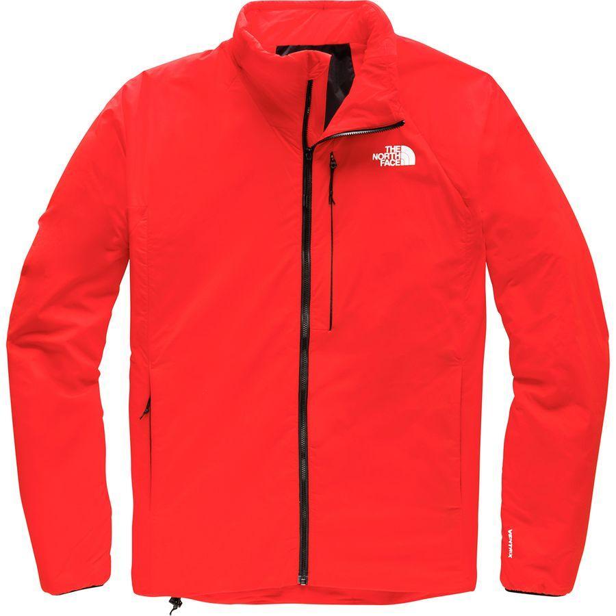 (取寄)ノースフェイス メンズ ヴェントリックス インサレーテッド ジャケット The North Face Men's Ventrix Insulated Jacket Fiery Red