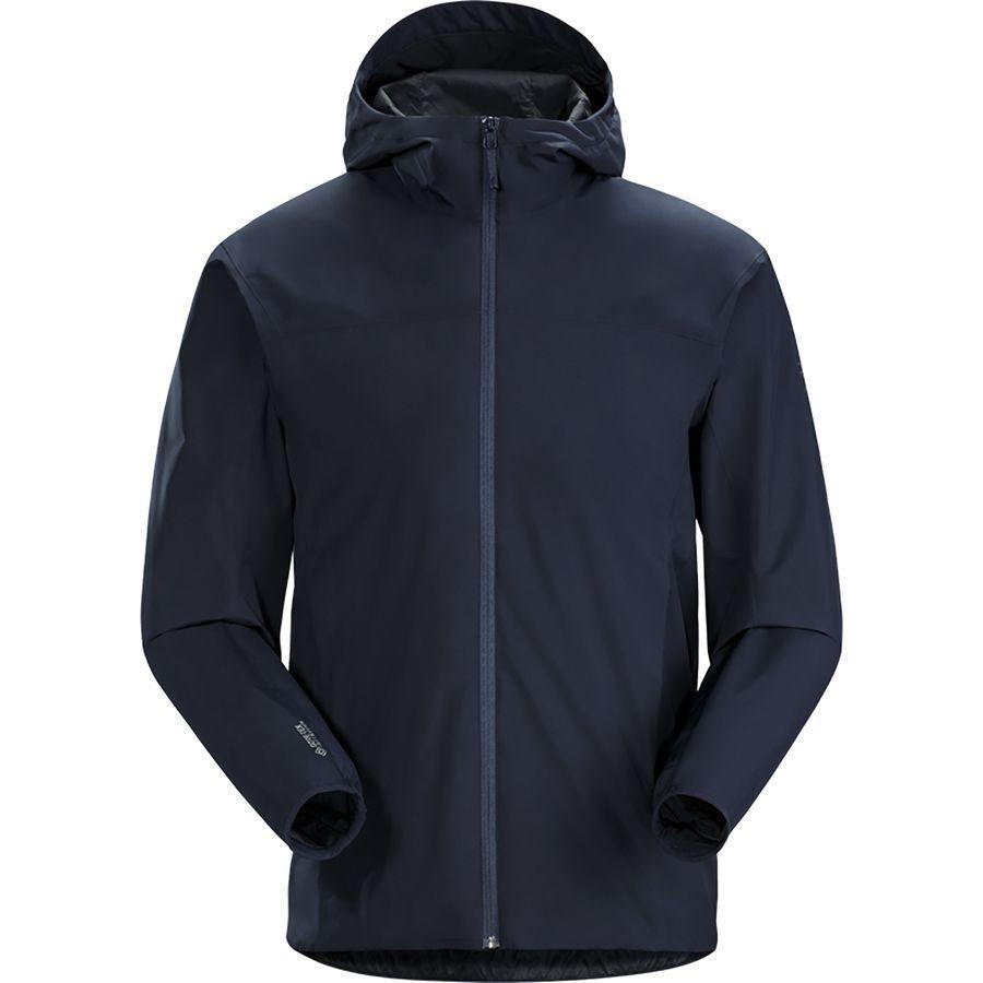 アークテリクス メンズ ソラノ フーデッド ジャケット アウトドア ネイビー Arc'teryx Men's Solano Hooded Jacket Tui
