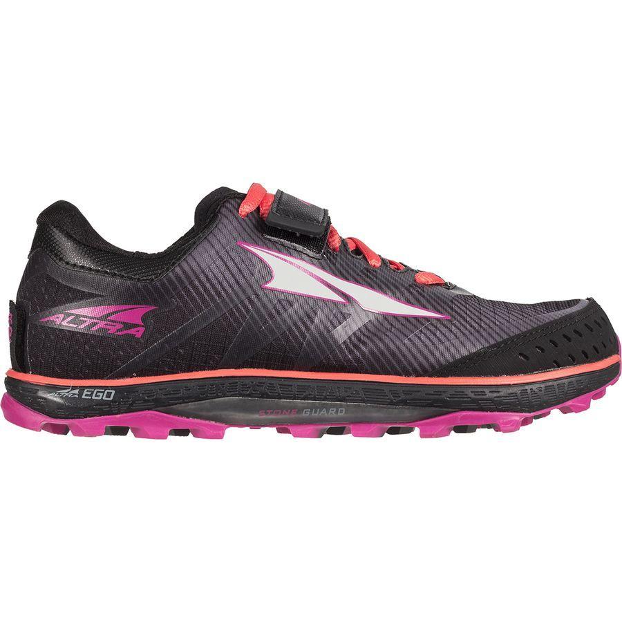 【マラソン ポイント10倍】(取寄)アルトラ レディース キング MT 2 トレイル ランニング シューズ ランニングシューズ Altra Women King MT 2 Trail Running Shoe Black/Coral/Pink
