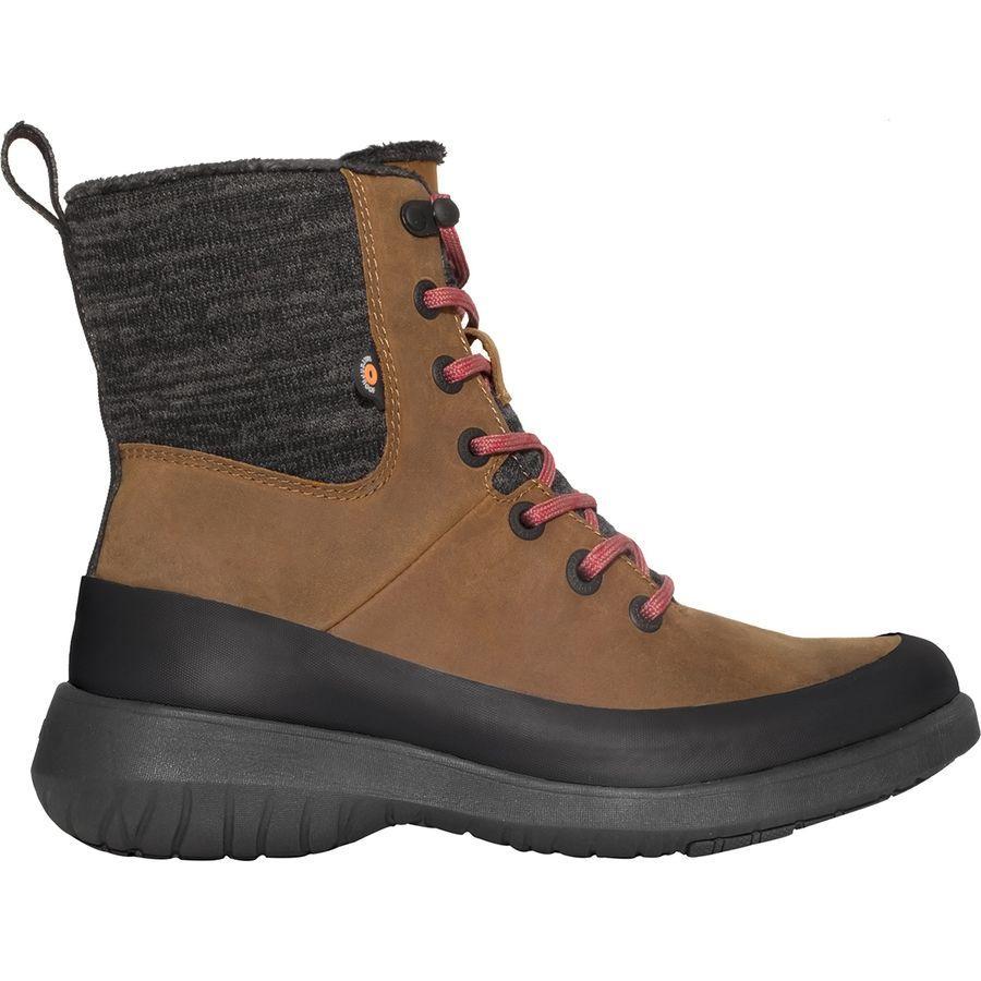 (取寄)ボグス レディース フリーダム レース ブーツ Bogs Women Freedom Lace Boot Cognac