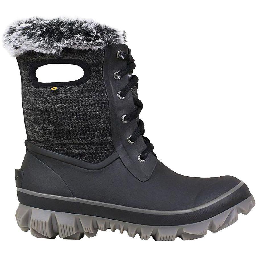 (取寄)ボグス レディース アーケータ ニット ブーツ Bogs Women Arcata Knit Boot Black Multi