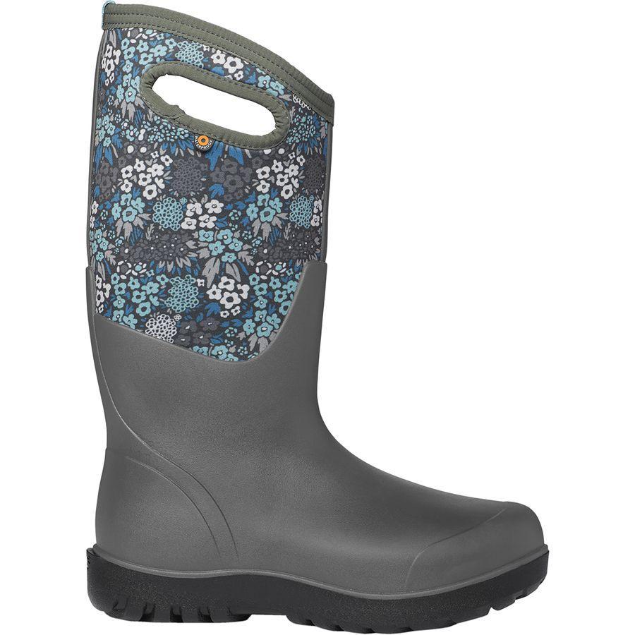 (取寄)ボグス レディース Neo-Classicトール NW ガーデン ブーツ Bogs Women Neo-Classic Tall NW Garden Boot Gray Multi