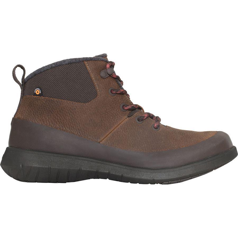 (取寄)ボグス メンズ フリーダム レース ミッド ブーツ Bogs Men's Freedom Lace Mid Boot Cinnamon