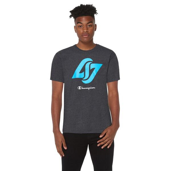 (取寄)チャンピオン メンズ カウンター ロジック ショートスリーブ ジャージー Tシャツ Champion Men's Counter Logic S/S Jersey T-Shirt Oxford Grey