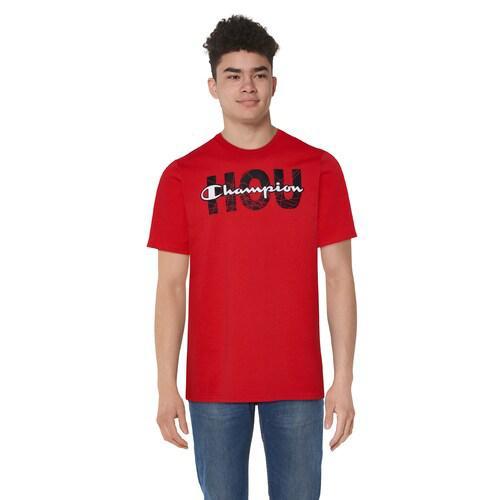 (取寄)チャンピオン メンズ グラフィック Tシャツ Champion Men's Graphic T-Shirt Red Black