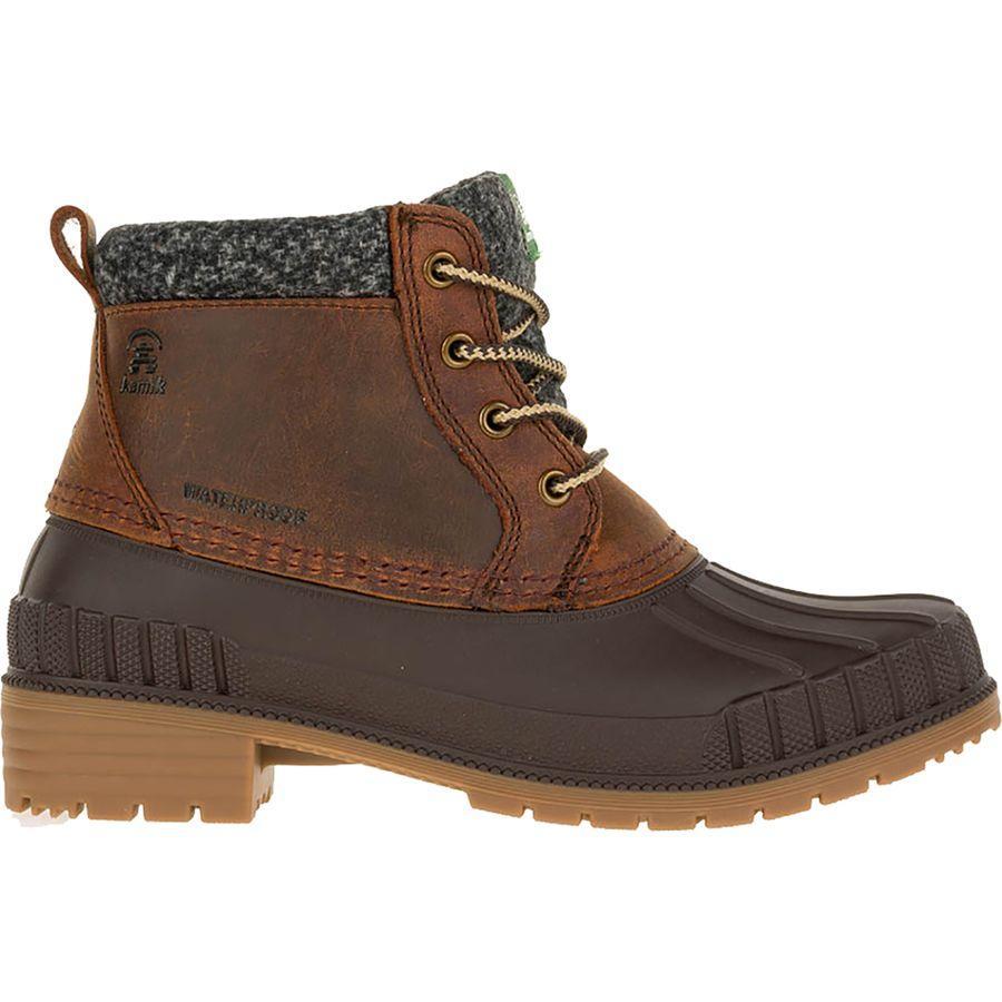 (取寄)カミック レディース エブリン 4 ブーツ Kamik Women Evelyn 4 Boot Cognac