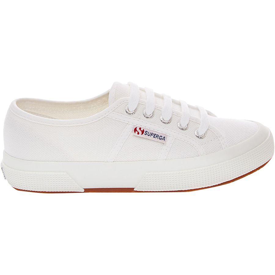 (取寄)スペルガ レディース クラシック キャンバス 2750 シューズ Superga Women Classic Canvas 2750 Shoe White