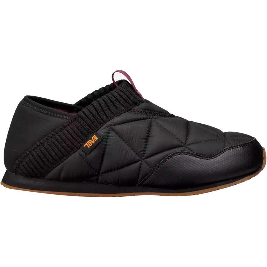 (取寄)テバ レディース エンバー モック シャーリング シューズ Teva Women Ember Moc Shearling Shoe Black