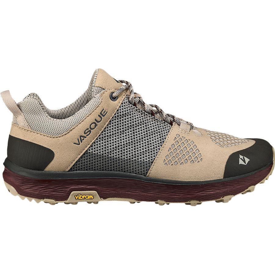 【クーポンで最大2000円OFF】(取寄)バスク レディース ブリーズ LT ロウ ハイキングシューズ Vasque Women Breeze LT Low Hiking Shoe Aluminum/Rum Raisin
