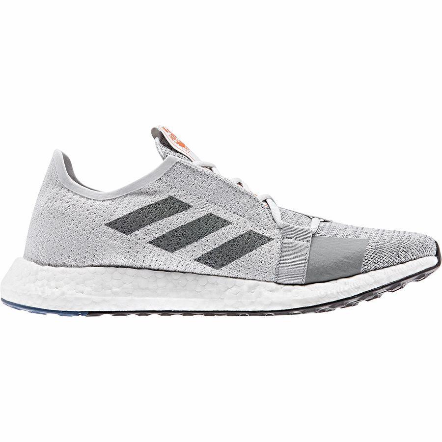 【クーポンで最大2000円OFF】(取寄)アディダス メンズ センスブースト ゴー ランニングシューズ Adidas Men's SenseBoost Go Running Shoe Grey One/Grey Heather/Tech Ink