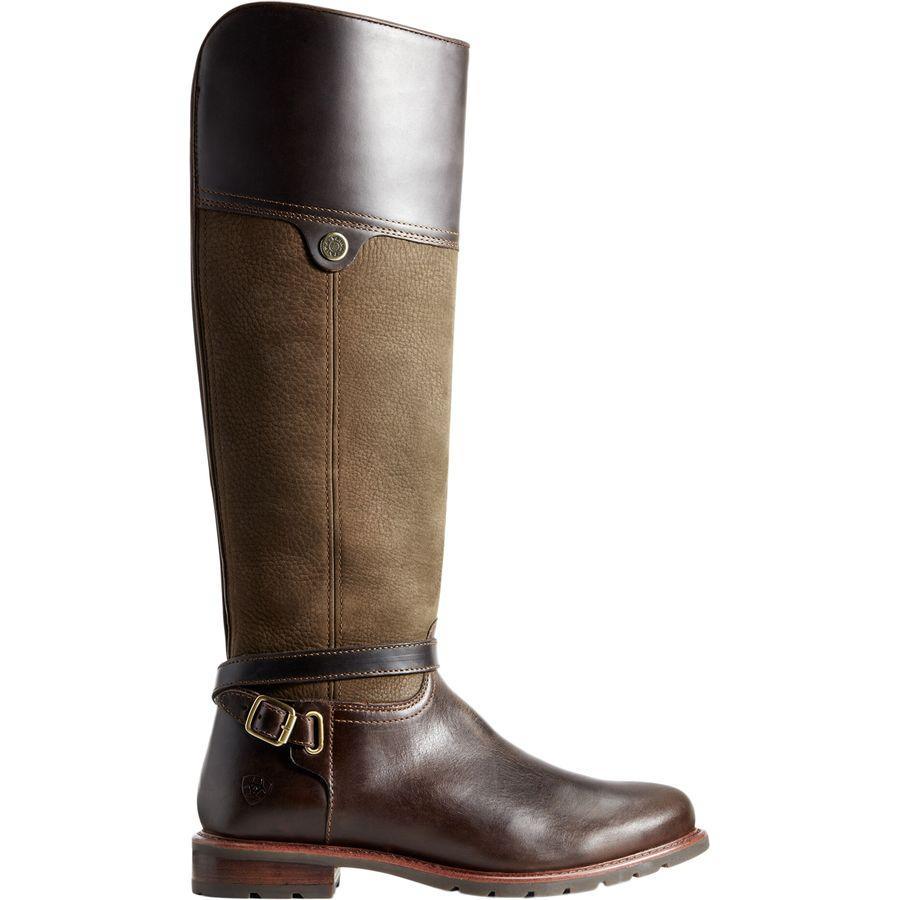 (取寄)アリアト レディース カーデン H2O ブーツ Ariat Women Carden H2O Boot Chocolate/Willow