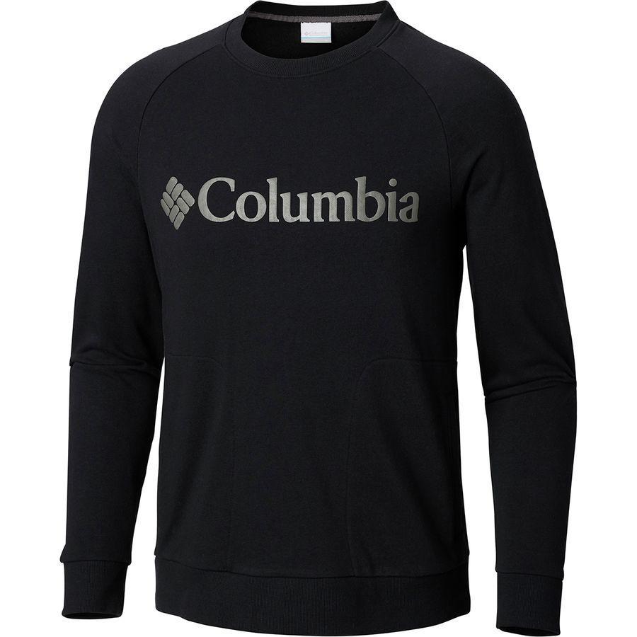 (取寄)コロンビア メンズ CSC Mブガスウェット クルー トレーナー Columbia Men's CSC M Bugasweat Crew Sweatshirt Black