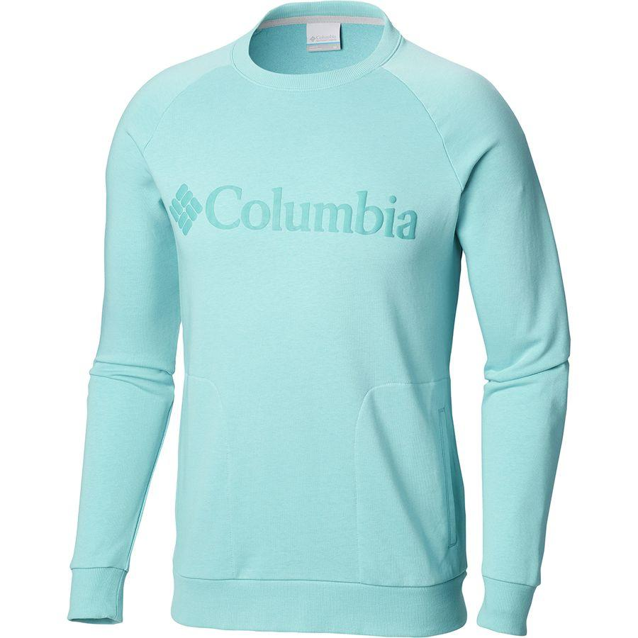 (取寄)コロンビア メンズ CSC Mブガスウェット クルー トレーナー Columbia Men's CSC M Bugasweat Crew Sweatshirt Iceberg