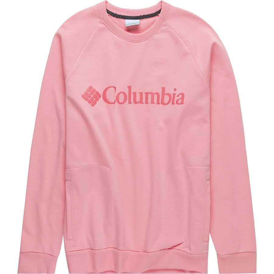 (取寄)コロンビア メンズ CSC Mブガスウェット クルー トレーナー Columbia Men's CSC M Bugasweat Crew Sweatshirt Rosewater