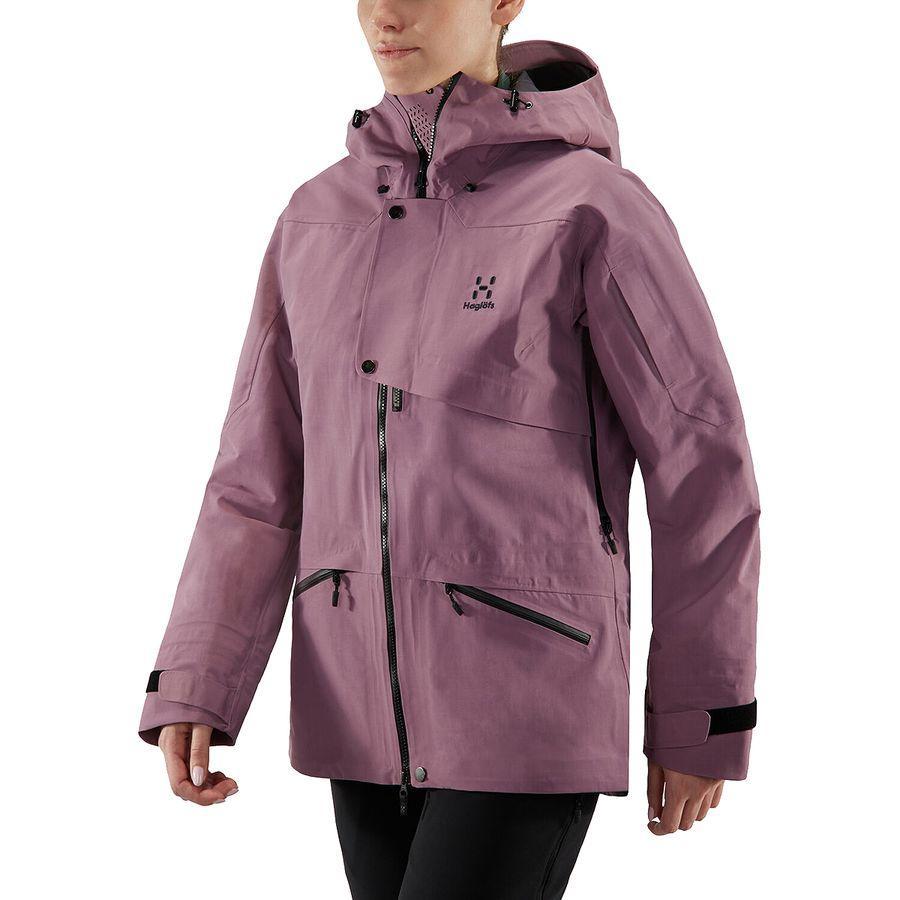 (取寄)ホグロフス レディース キオーネ 3L プルーフ ジャケット Haglofs Women Khione 3L Proof Jacket Purple Milk