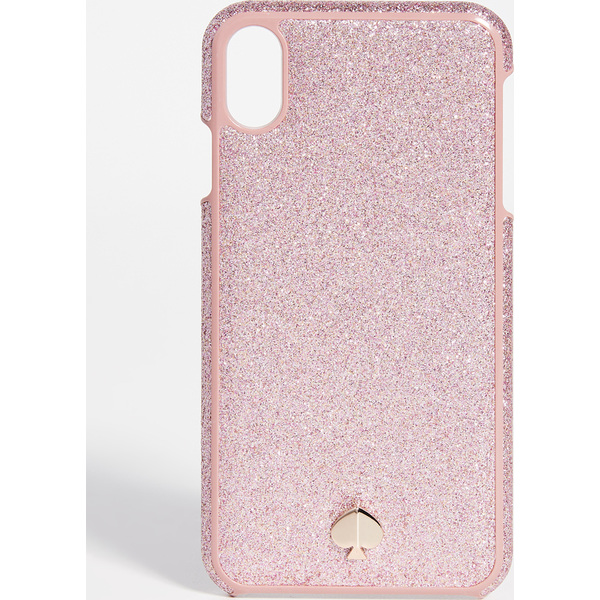 (取寄)ケイトスペード グリッター インレイ アイフォン ケース Kate Spade New York Glitter Inlay iPhone Case RoseGold