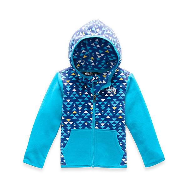 (取寄)ノースフェイス トッドラー グレイシャー フル ジップ フーディ The North Face Toddlers' Glacier Full Zip Hoodie TNF Blue Mini Aztec Print