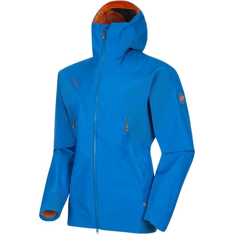 (取寄)マムート メンズ ノードワンド HS フレックス フーデッド ジャケット Mammut Men's Nordwand HS Flex Hooded Jacket Ice