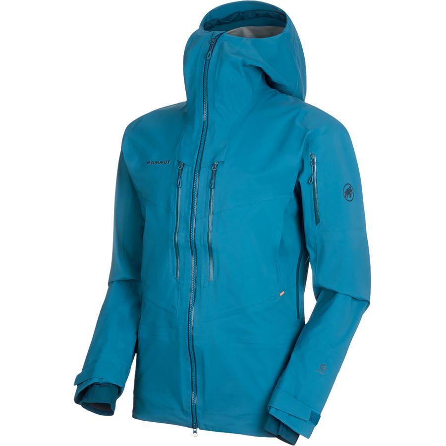 【クーポンで最大2000円OFF】(取寄)マムート メンズ ハルディグラート HS フーデッド ジャケット Mammut Men's Haldigrat HS Hooded Jacket Sapphire