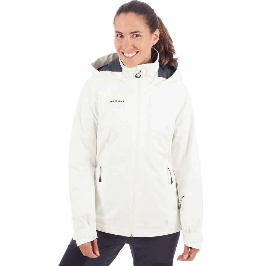 (取寄)マムート レディース Scalottas HS サーモ フーデッド ジャケット Mammut Women Scalottas HS Thermo Hooded Jacket Bright White