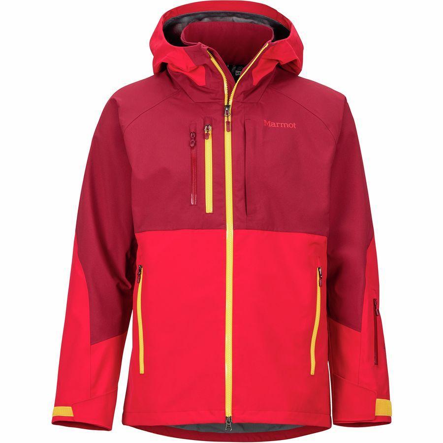 【マラソン ポイント10倍】(取寄)マーモット メンズ BLプロ ジャケット Marmot Men's BL Pro Jacket Team Red/Brick