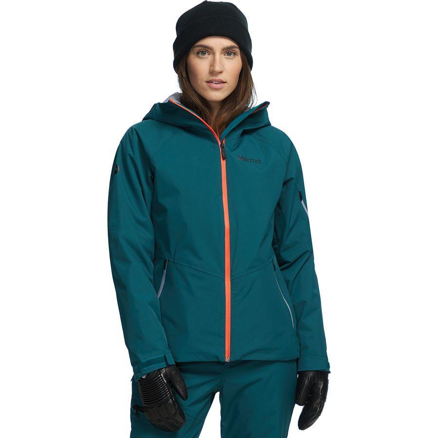 【マラソン ポイント10倍】(取寄)マーモット レディース レフュージ インサレーテッド ジャケット Marmot Women Refuge Insulated Jacket Deep Teal