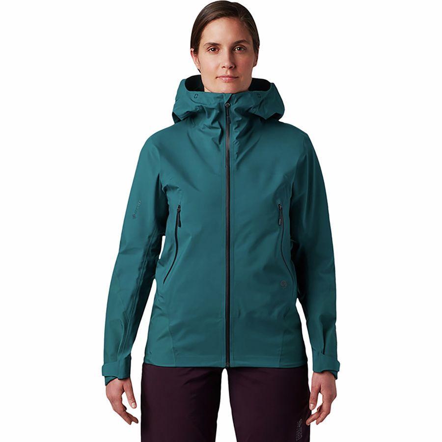 【クーポンで最大2000円OFF】(取寄)マウンテンハードウェア レディース ハイ エクスポーザー Gtx C-Knit ジャケット Mountain Hardwear Women High Exposure GTX C-Knit Jacket Dive