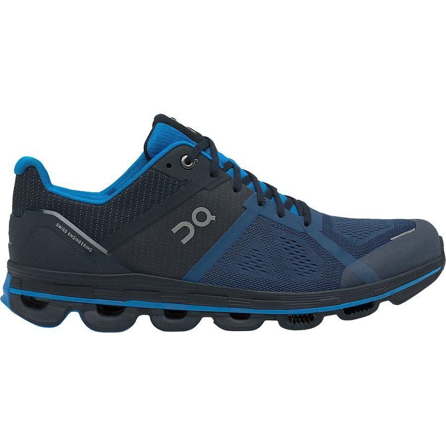 (取寄)オン ランニング メンズ クラウドエース ランニングシューズ ON Running Men's Cloudace Running Shoe Navy/Malibu